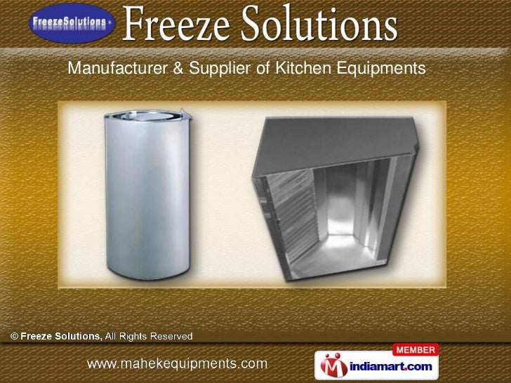 Hyderabad Commercial Kitchen Equipment