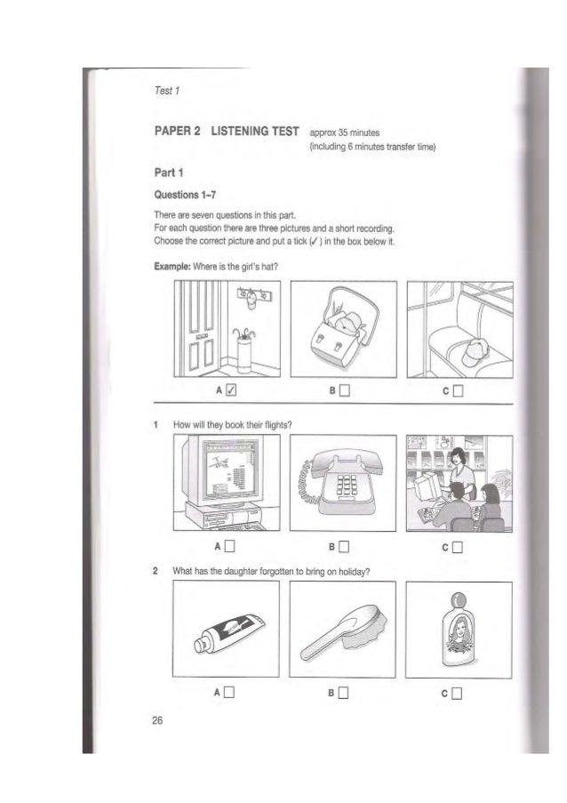 English Listening Test Level B1 - english exercises reading