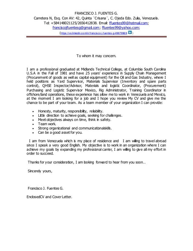 cover letter to whom it may concern engl