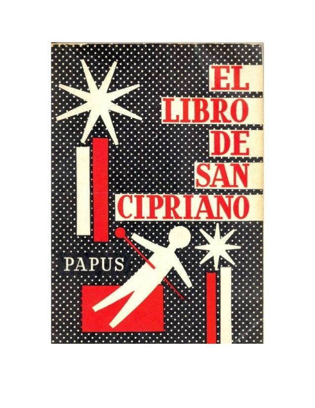 EL LIBRO DE SAN CIPRIANO 2