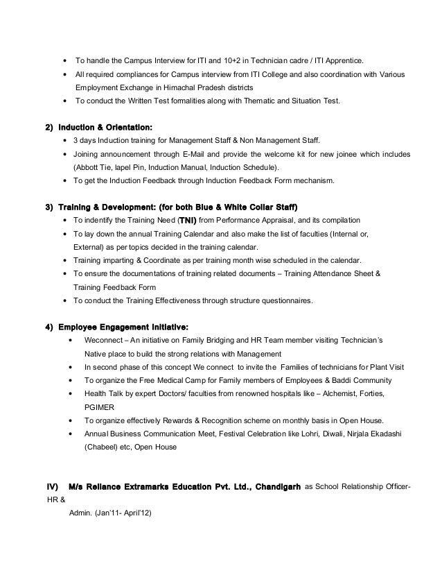 Adesh MagoCV – Orientation Feedback Form