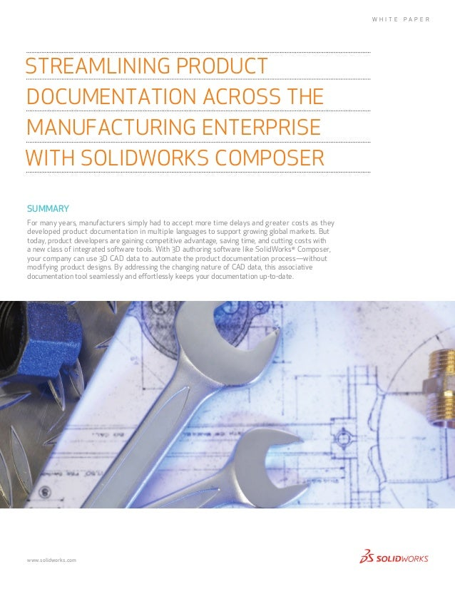 Streamlining Product Documentation with SOLIDWORKS Composer