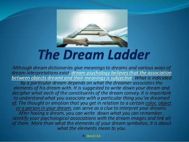 what does my dream mean