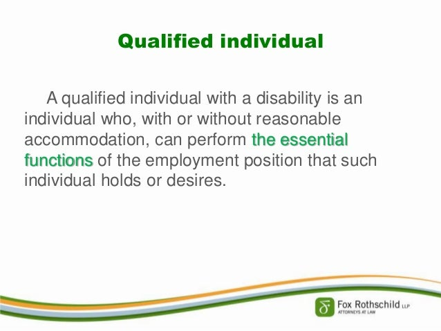 reasonable accommodation in the work place Learn about the americans with disabilities act is designed to protect your right to employment by requiring most employees to make changes -- called reasonable accommodation a reasonable accommodation is any change to your job or work environment that gives you equal access to.