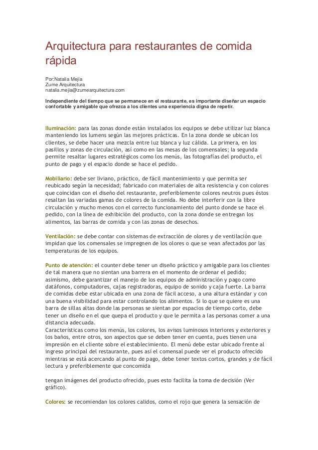 233688190 programa arquitectonico de restaurante for Programa arquitectonico restaurante