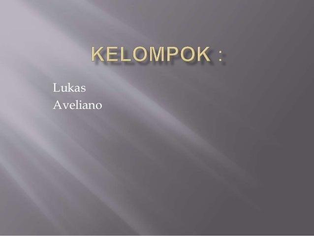Lukas Aveliano