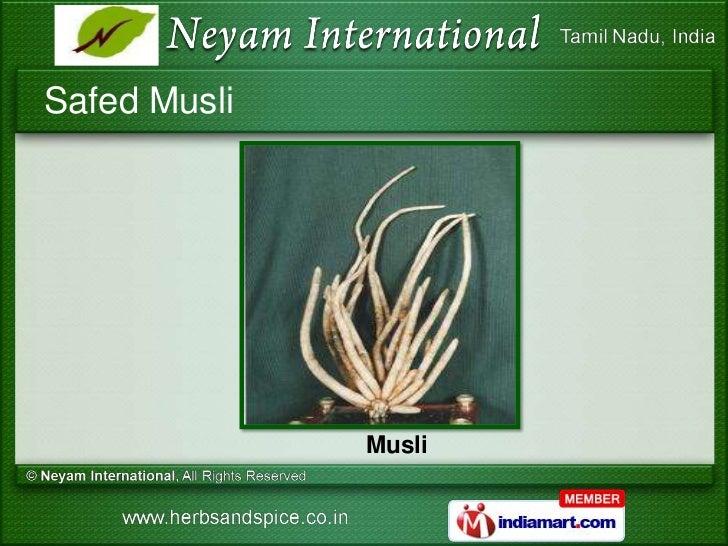 musli in tamil