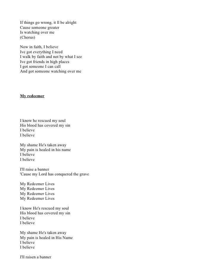 Lyric i believe in you lyrics : Lyrics