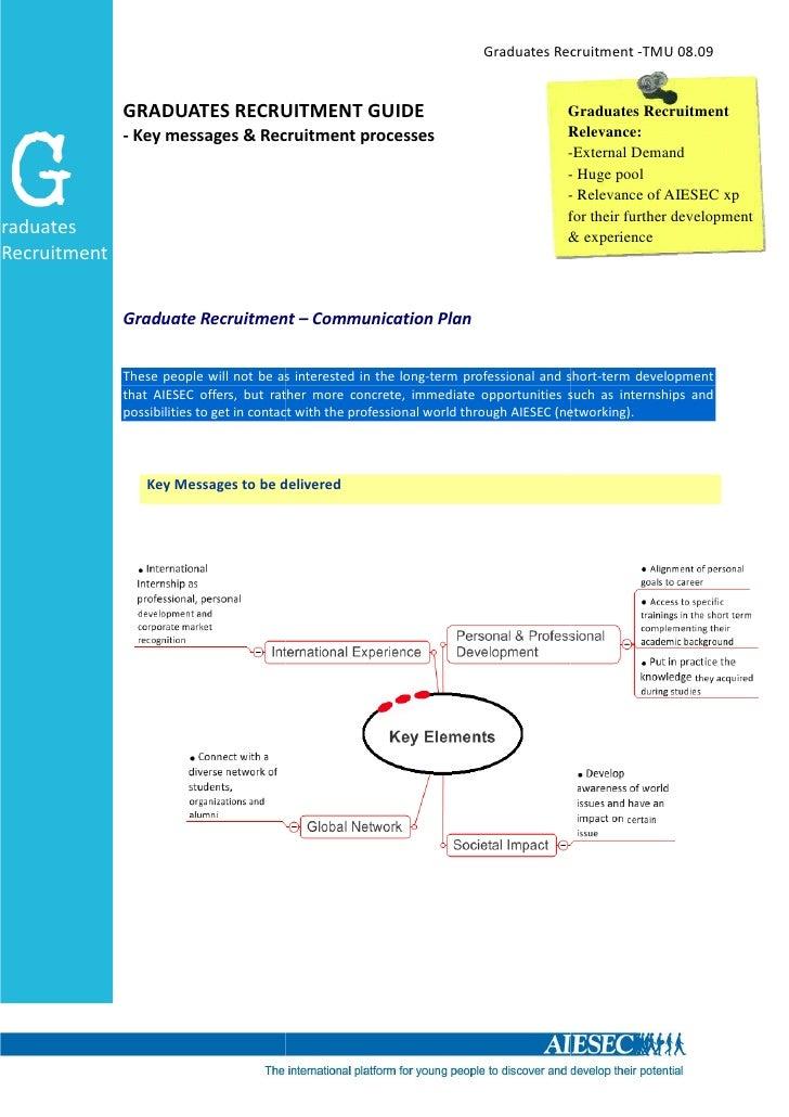 Graduates Recruitment -TMU 08.09                 GRADUATES RECRUITMENT GUIDE                                              ...