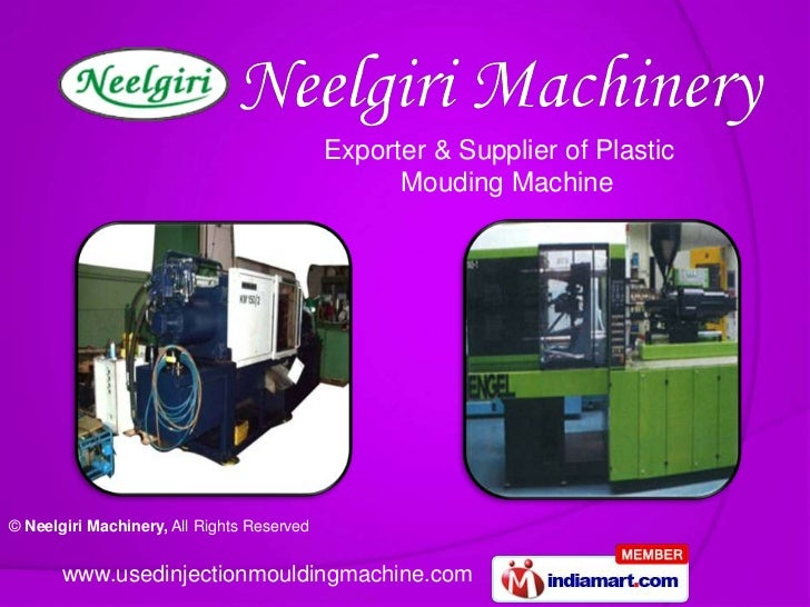 Exporter & Supplier of Plastic                                                  Mouding Machine© Neelgiri Machinery, All R...