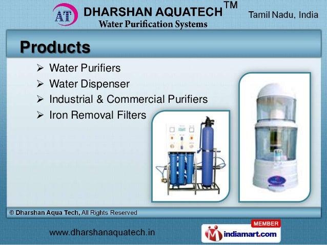 Ro Purifiers Amp Dispensers By Dharshan Aqua Tech Chennai