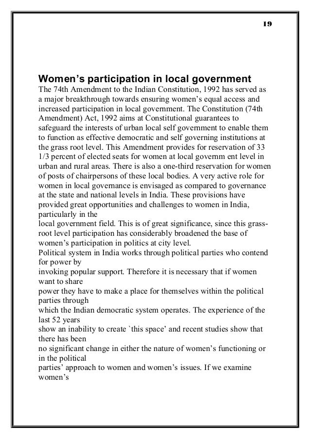 woman empowerment in india Women empowerment and women equality with men is a universal issue  women empowerment refers to increasing and improving the social, economic,.