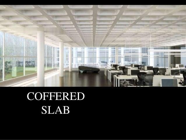 Waffle Slab Ceiling Office