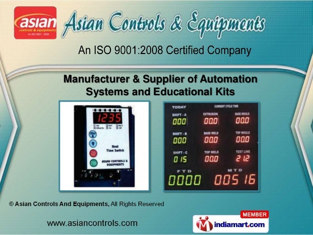Manufacturer & Supplier of Automation   Systems and Educational Kits