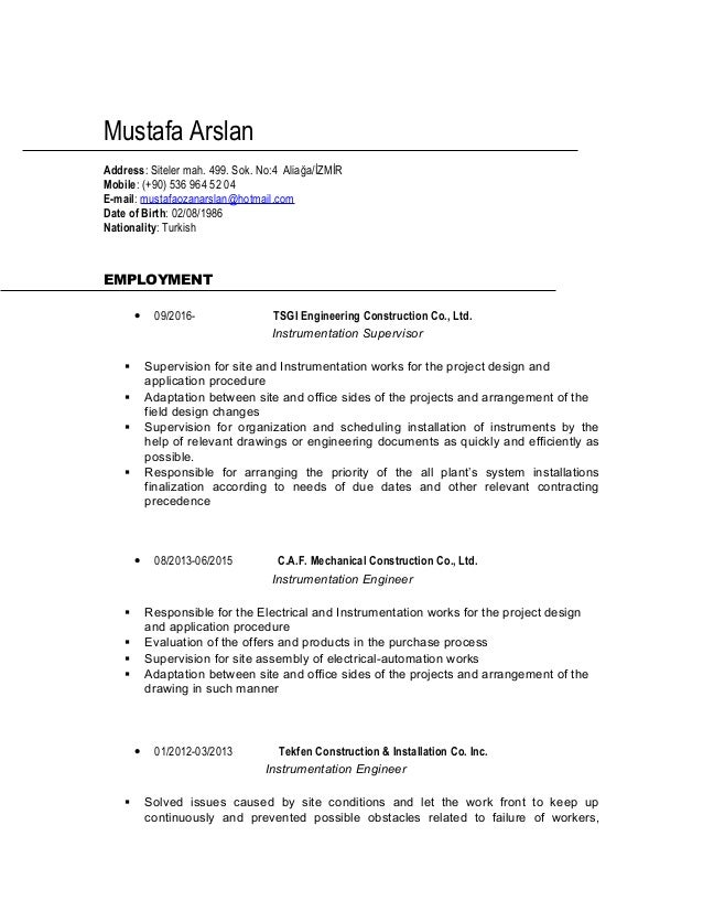Erfreut Supervisor Lebenslauf Probe Galerie - Entry Level Resume ...