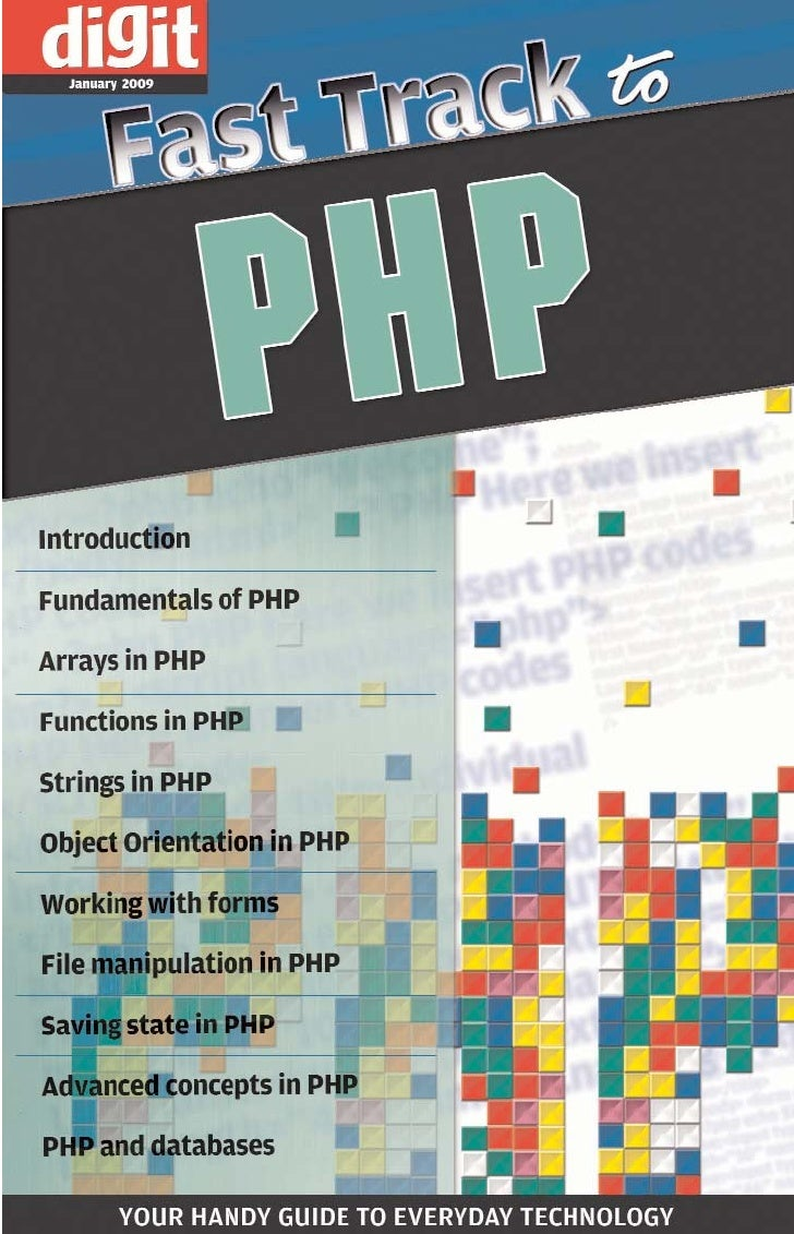 Fast Track     to   PHP   By Team Digit