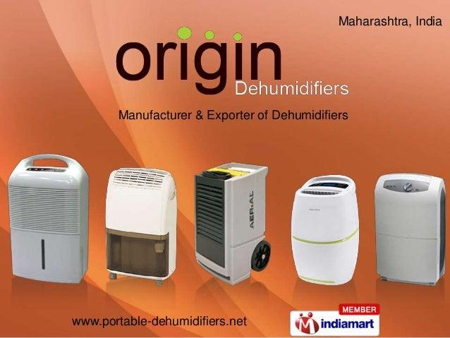www.portable-dehumidifiers.net Manufacturer & Exporter of Dehumidifiers Maharashtra, India