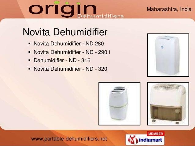 www.portable-dehumidifiers.net Novita Dehumidifier  Novita Dehumidifier - ND 280  Novita Dehumidifier - ND - 290 i  Deh...