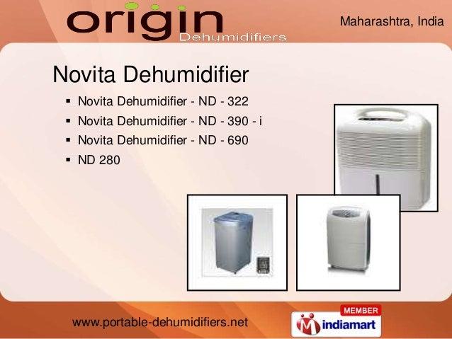 www.portable-dehumidifiers.net Novita Dehumidifier  Novita Dehumidifier - ND - 322  Novita Dehumidifier - ND - 390 - i ...