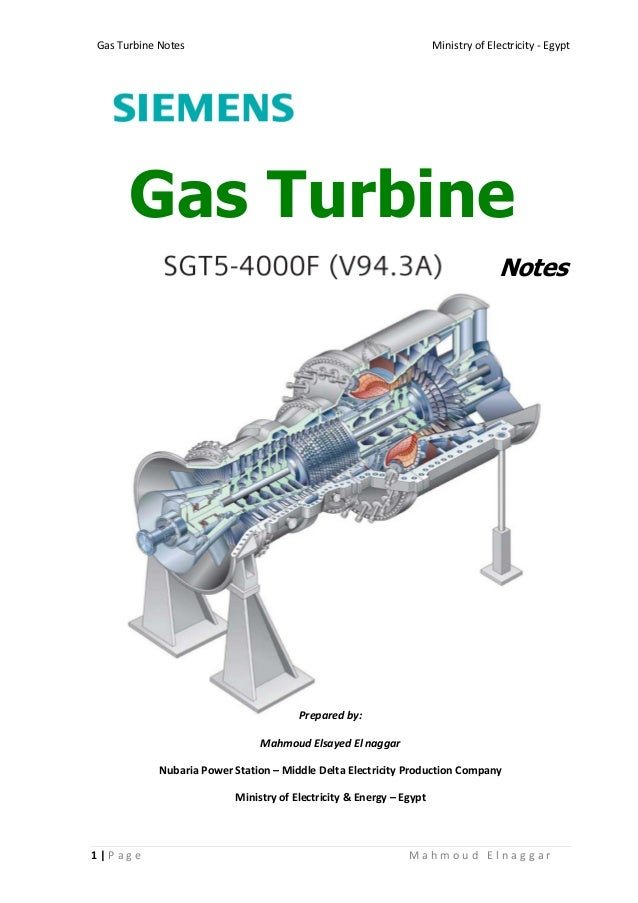 236407565 Gas Turbine Notes