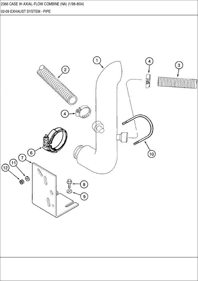 case 2366 ih axial flow combine parts catalog  led case ih combine light kit tl2388