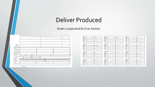 Deliver Produced Roads Longitudinal & Cross-Section