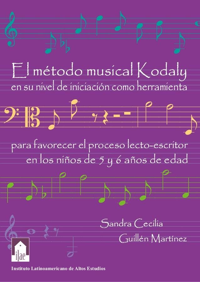 Método Kodaly Para La Iniciación De La Música