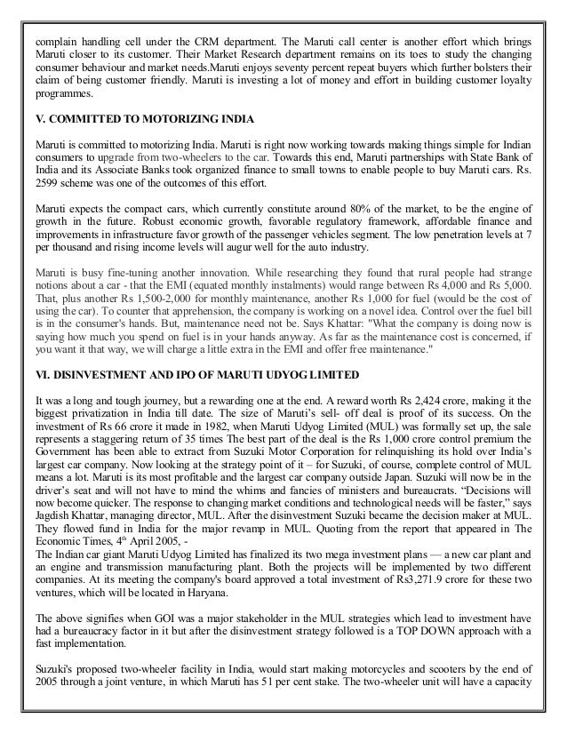 consumer behaviour maruti suzuki literature review International journal of business and administration research review, vol1, issue5, april-june, 2014 page 132 a study on consumer preference on users of car in krishnagiri town k.
