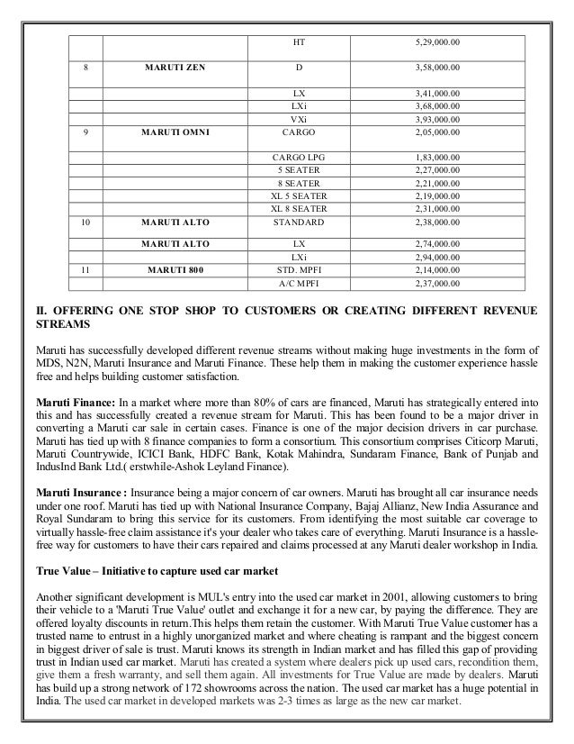 maruti suzuki swift case study Maruti suzuki india limited, formerly known as maruti udyog limited, is an  automobile  the 13 litre suzuki swift five-door hatchback was introduced in  2005 in 2006 suzuki and maruti set up another joint venture, maruti suzuki  automobiles india,.