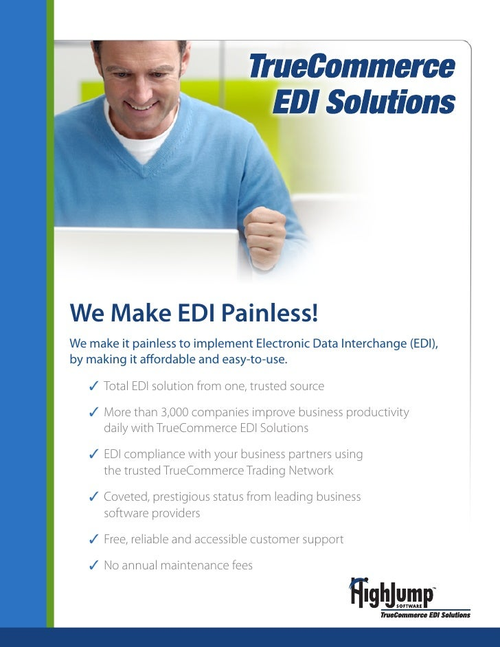 We Make EDI Painless! More than a tagline. It's our mission.   We make it painless to implement Electronic Data Interchang...