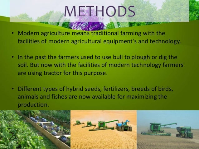How Modern Techniques Of Farming Help In Increasing Production