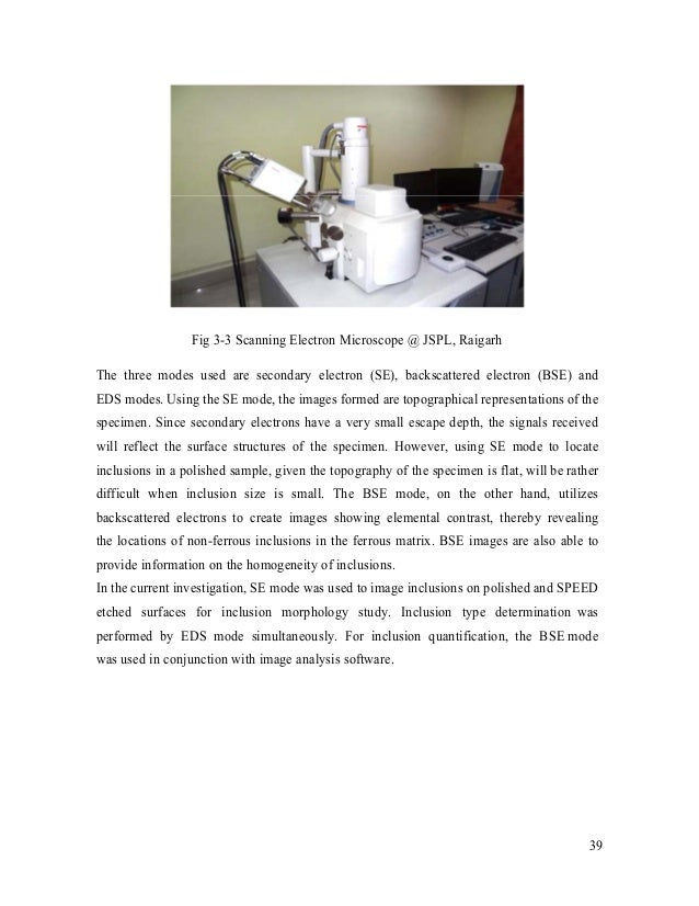 scanning electron microscope essay Below is an essay on microscope lab from anti essays, your source for research papers,  use of the microscope the scanning electron microscope (sem).