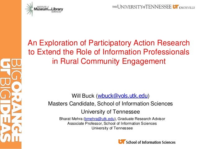 An Exploration of Participatory Action Research to Extend the Role of Information Professionals in Rural Community Engagem...