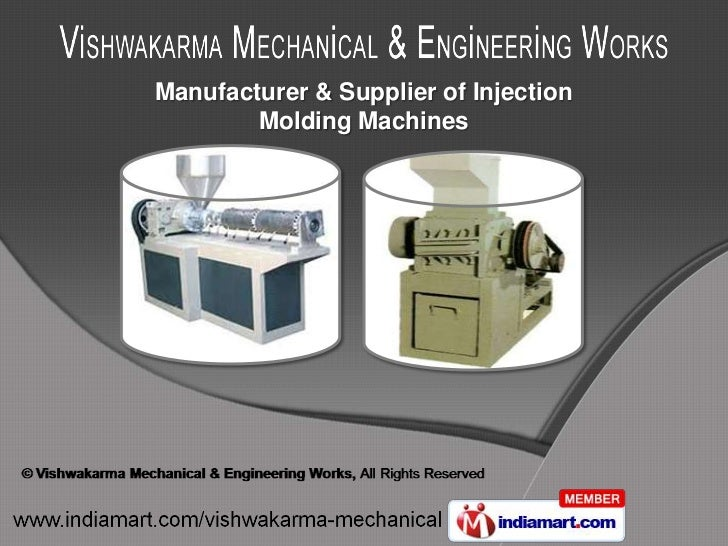 Manufacturer & Supplier of Injection        Molding Machines
