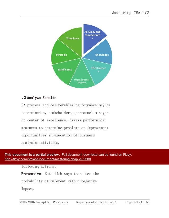 CBAP® Certification Preparation v3.0 training course   ALC ...