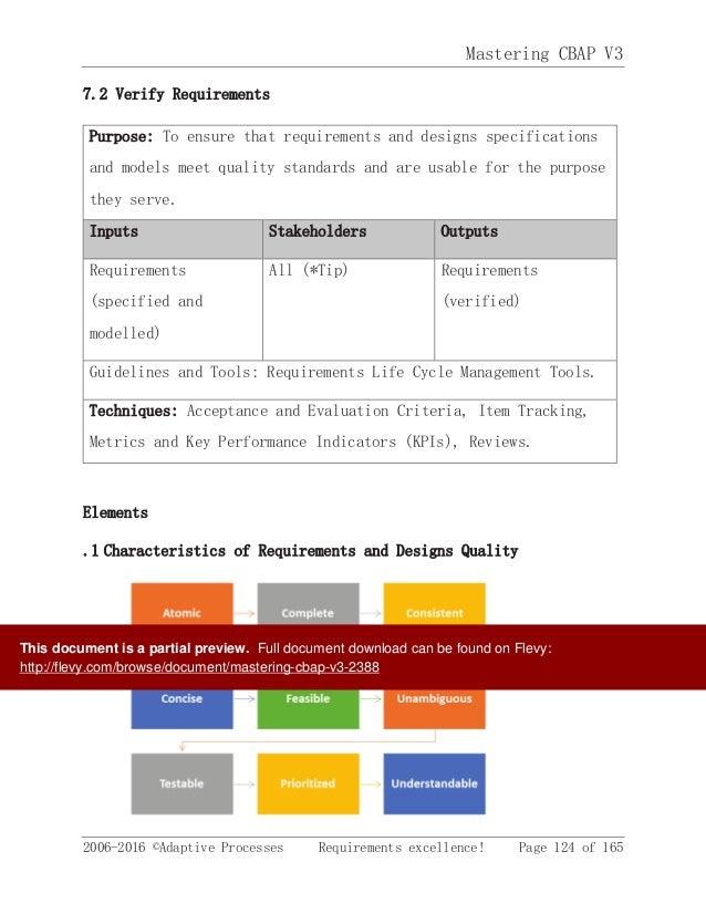 IIBA Certified Business Analyst Free Study guide