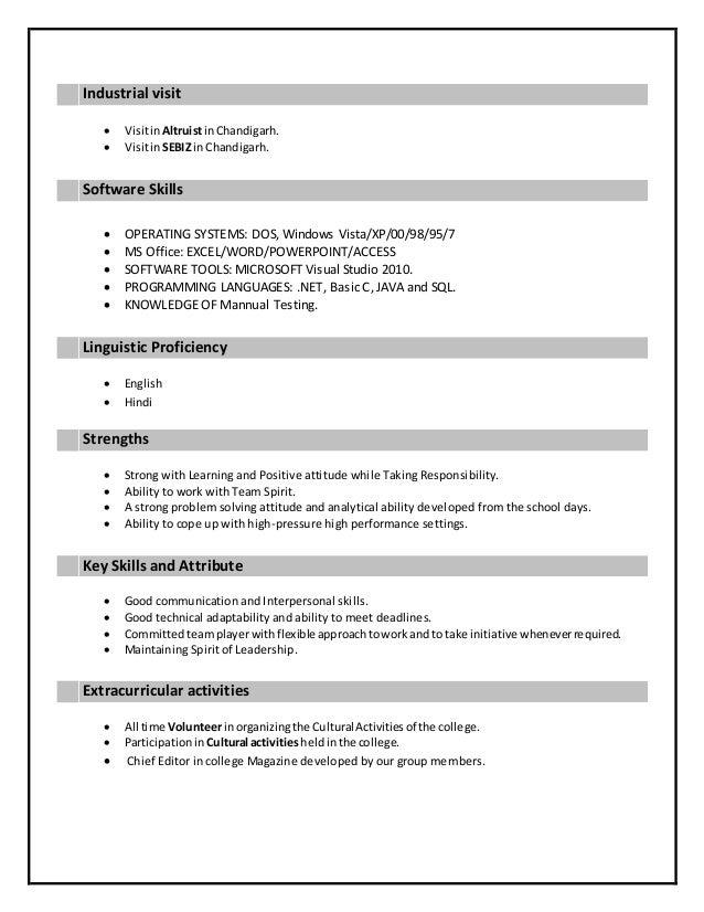 Resume- Prachi Gaur Slide 2
