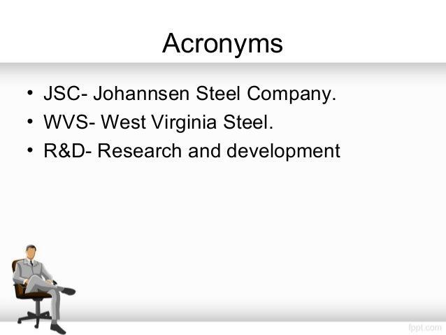 johannsen steel company