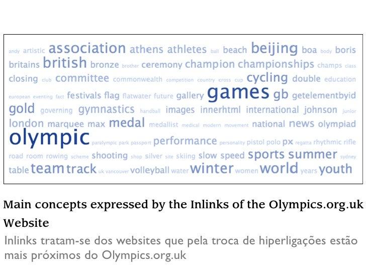 Main concepts of blog discourse Este gráfico demonstra que conceitos estão mais presentes nos blogs que foram encontrados n...
