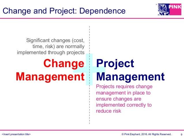 Project Management and Change Management - Sean Low