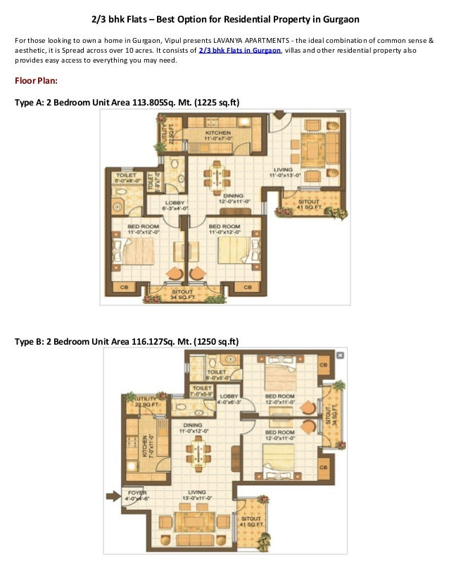2/3 bhk Flats – Best Option for Residential Property in Gurgaon For those looking to own a home in Gurgaon, Vipul presents...