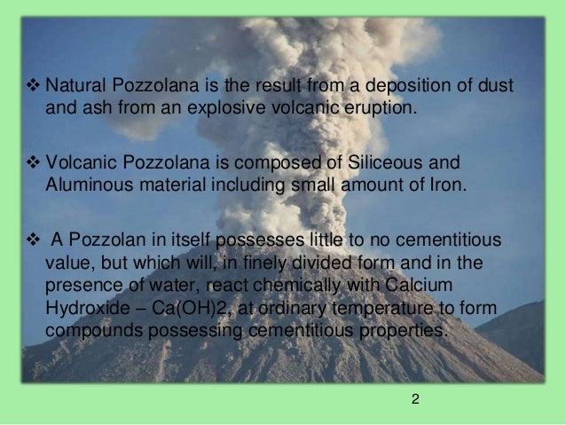 Pozzolana Cement Italy : Intercemdohapresentation natural pozzolana