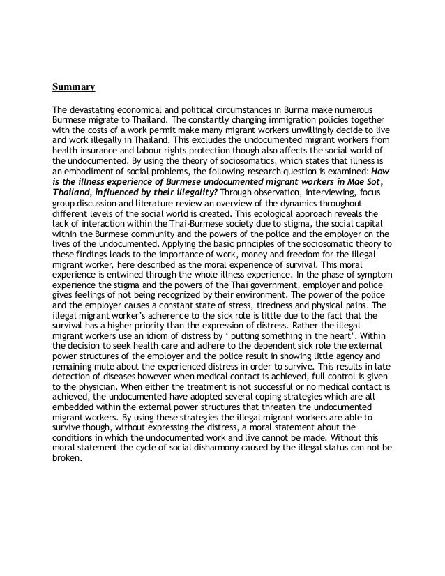 master thesis overview A thesis is an integral part of the scholarly achievement of master's degree  candidates in many graduate programs at eastern washington university  approved.