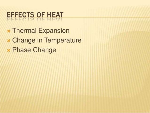 23 effects of heat Slide 2