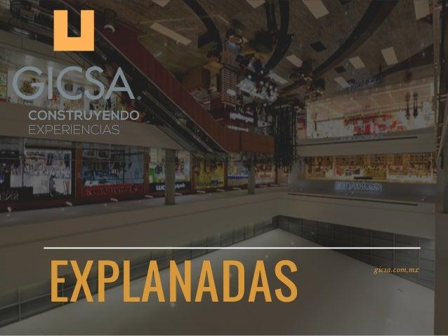 EXPLANADAS gicsa.com,mx