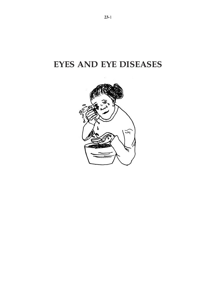 23-1EYES AND EYE DISEASES
