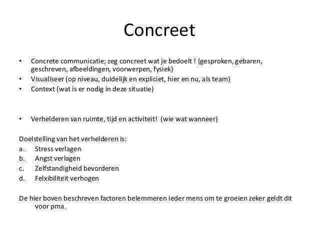 Presentatie communictie met kinderen met ass en hun ouders - Cd concreet ...