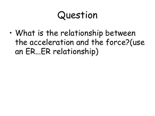 net force and acceleration relationship poems