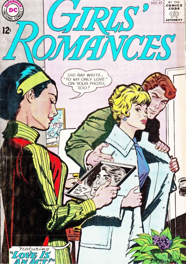 Girls' Romances #97, December 1963, Arleigh Publishing [DC]