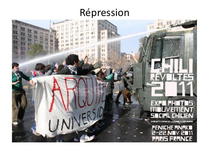 Con9nuitédesmobilisa9ons         sociales   Aprèslabaissed'intensitédu      mouvementétudiant